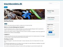 Blackbox Data Consult v/Carsten Larsen